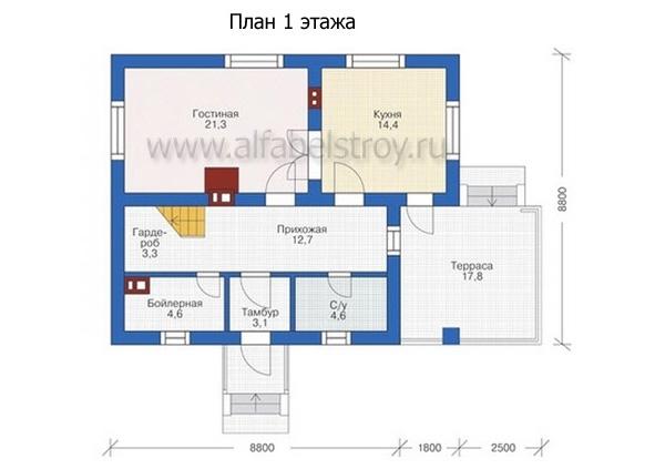 Проект блочного дома №10