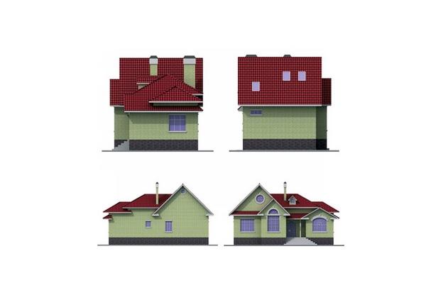 Проект блочного дома №13