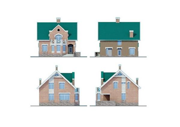 Проект блочного дома №19
