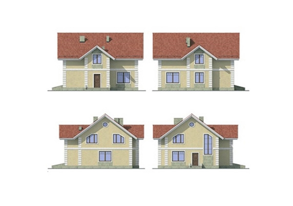 Проект блочного дома №20