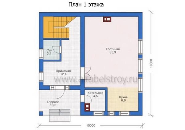 Проект блочного дома №22