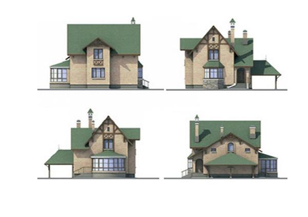 Проект блочного дома №28