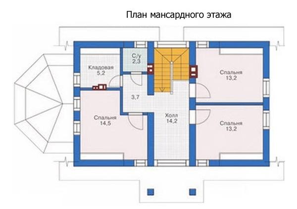 Проект блочного дома №6