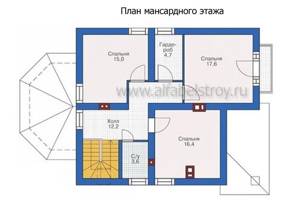 Проект блочного дома №25
