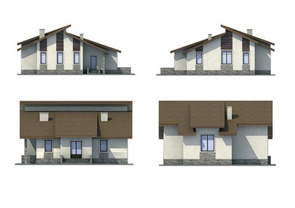 Проект блочного дома №4