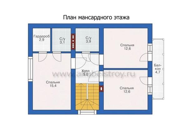 Проект блочного дома №7