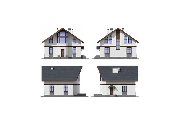 Проект блочного дома №9