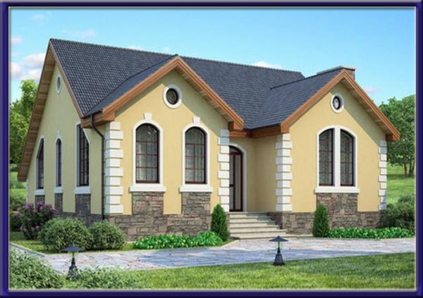 Проект блочного дома №8