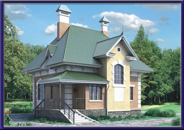 Проект блочного дома №17
