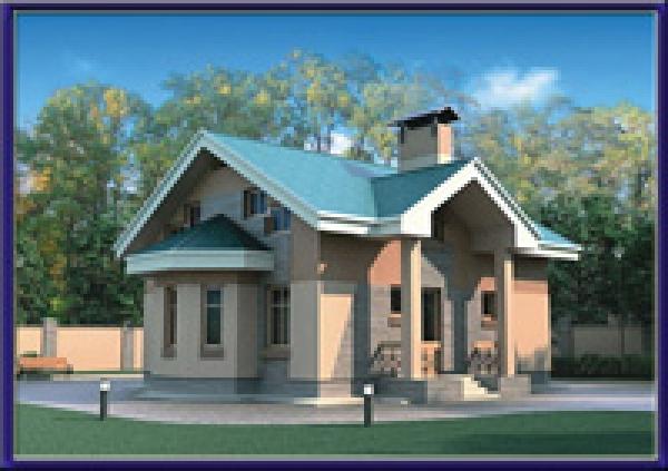 Проект блочного дома №27