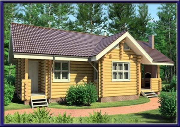 Проект деревянного дома №5