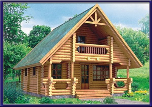 Проект деревянного дома №6