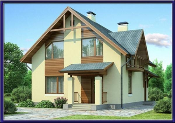 Проект каркасного дома №11