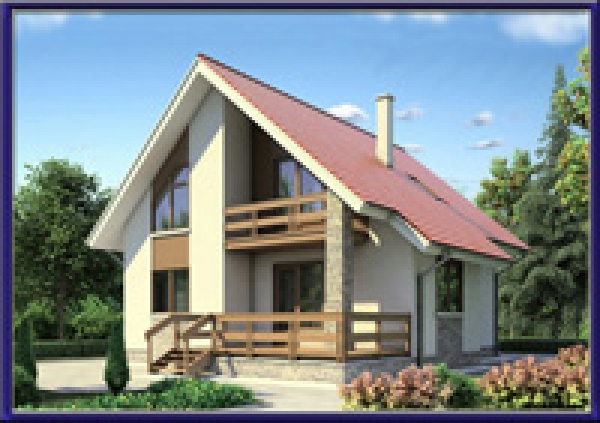 Проект каркасного дома №29