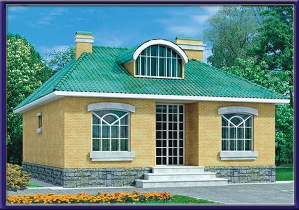 Проект каркасного дома №1