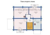 Проект деревянного дома №10