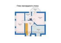 Проект каркасного дома №17