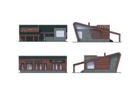 Проект блочного дома №23