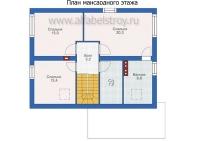 Проект каркасного дома №26