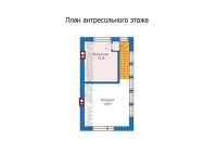Проект каркасного дома №27
