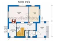 Проект каркасного дома №3