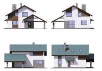 Проект каркасного дома №33