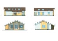 Проект каркасного дома №37