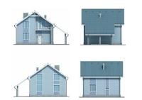 Проект каркасного дома №4