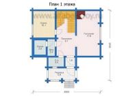 Проект деревянного дома №7