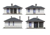 Проект каркасного дома №7