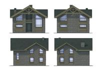 Проект каркасного дома №8