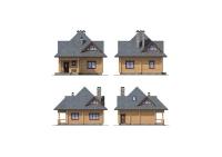 Проект деревянного дома №9