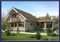 Проект деревянного дома №11