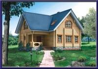 Проект деревянного дома №12