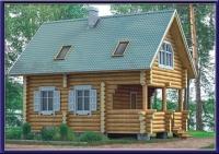 Проект деревянного дома №13