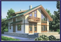 Проект каркасного дома №13