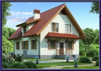 Проект каркасного дома №25