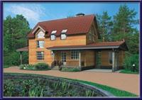 Проект каркасного дома №30