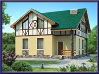 Проект каркасного дома №34