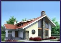 Проект каркасного дома №24