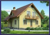 Проект каркасного дома №28
