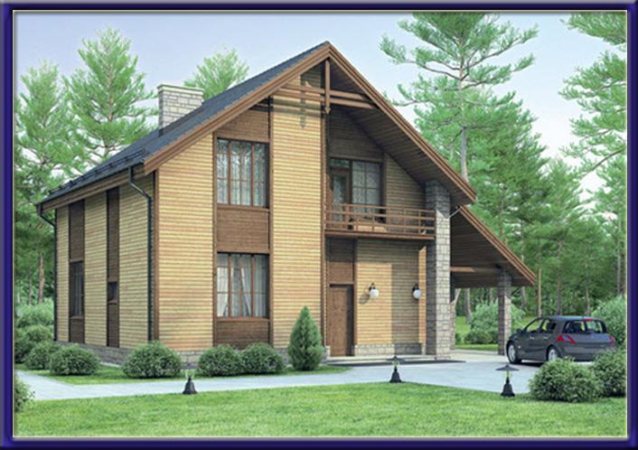 Дизайн фасада частного одноэтажного дома фото